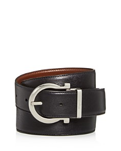 Salvatore Ferragamo - Men's Gancini Buckle Reversible Leather Belt