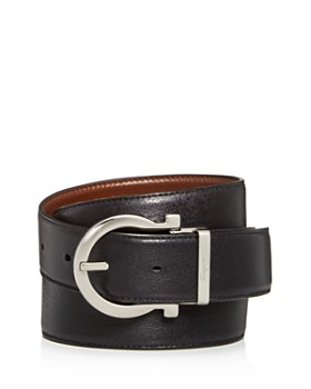 Salvatore Ferragamo - Gancini Buckle Reversible Leather Belt