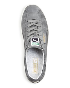 PUMA - Men's Te-Ku Summer Perforated Suede Lace Up Sneakers