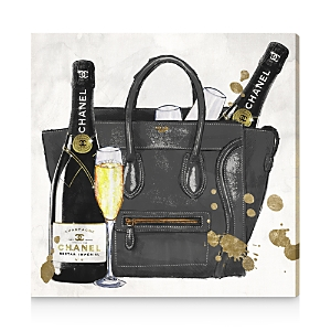 Oliver Gal I Brought The Champagne Canvas Art, 20 x 20
