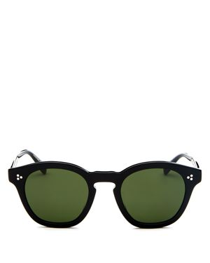 Oliver Peoples Men's Boudreau L.a. Round Sunglasses, 48mm