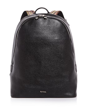 Paul Smith - Multistripe Strap Leather Backpack