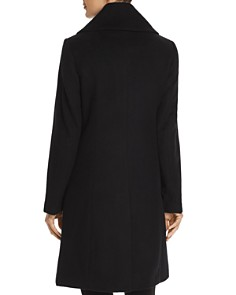 Cole Haan - Envelope Collar A-Line Coat