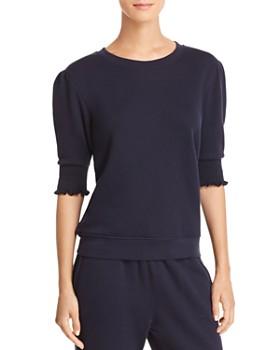 Joie - Maita Smocked-Sleeve Sweatshirt