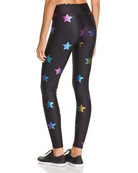 Terez - Rainbow Star Foil Leggings