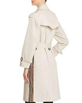 Burberry - Trecastle Stripe Trench Coat