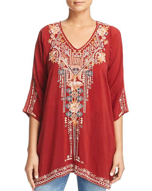 Johnny Was Collection - Mikaela Embroidered Tunic