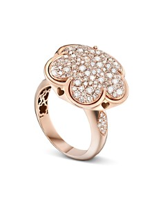 Pasquale Bruni 18K Rose Gold Bon Ton Champagne Diamond Floral Ring - Bloomingdale's_0