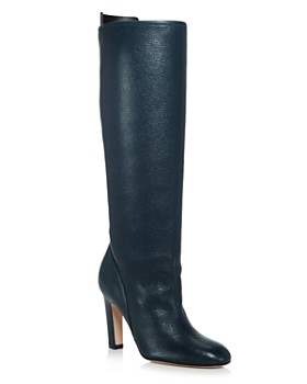 Stuart Weitzman - Women's Charlie Pointed-Toe Knee-High Leather High-Heel Boots - 100% Exclusive