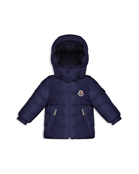 moncler baby down padded k2 taupe coat