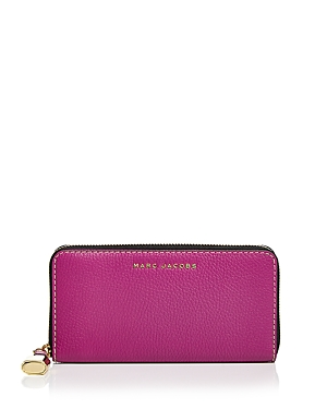 Marc Jacobs The Grind Standard Continental Leather Wallet