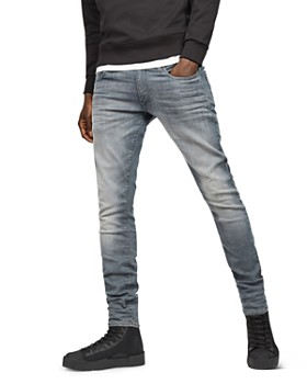 G-STAR RAW - 3301 Deconstructed Super Slim Fit Jeans in Wess Grey Dk Aged  ... 141ffbe5aacd