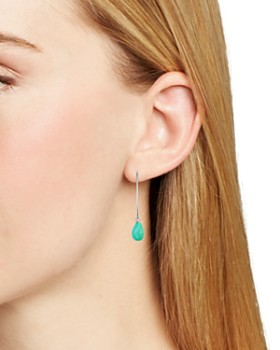 Bloomingdale's - Threader Turquoise Drop Earrings - 100% Exclusive
