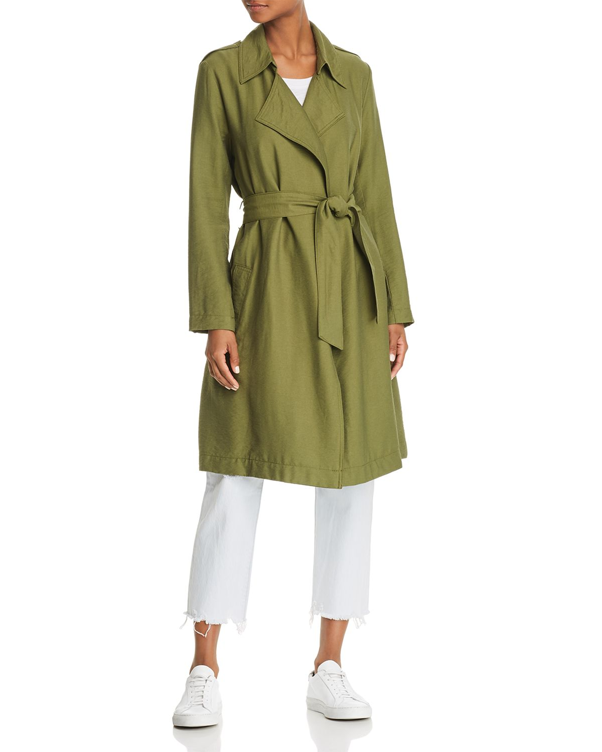 Crew Trench Coat by The Fifth Label