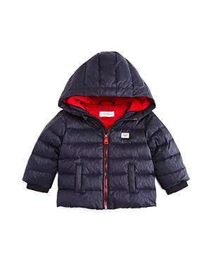 Armani Junior Boys' Logo-Print Puffer Jacket - Baby