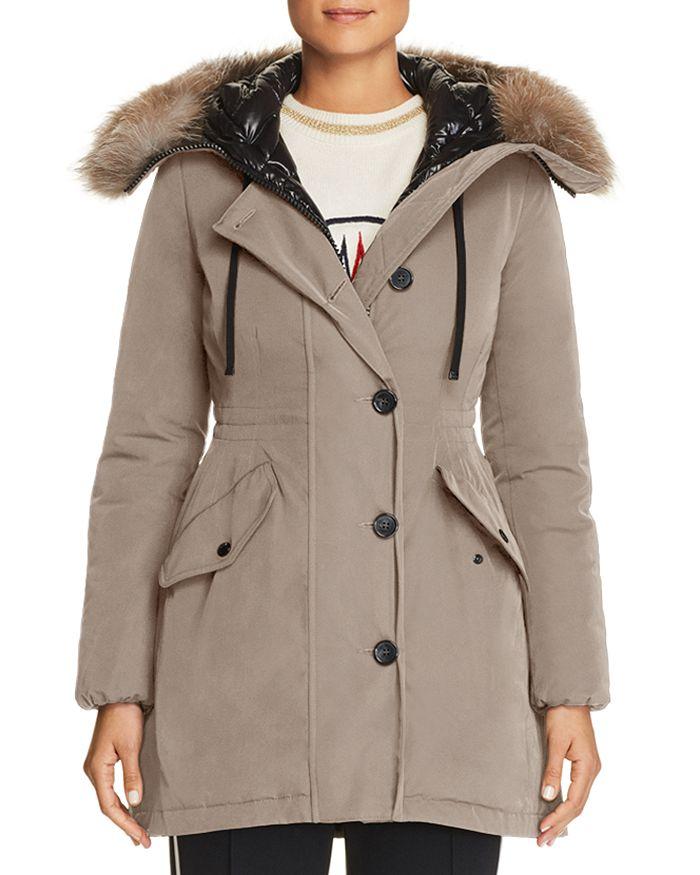 b383b2d7a Monticole Fur Trim Down Coat