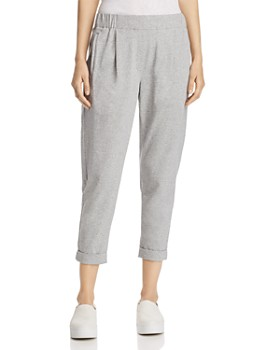Eileen Fisher Petites - Cropped Jogger Pants