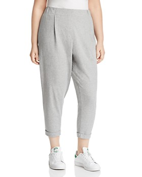 Eileen Fisher Plus - Cuffed Ankle Pants
