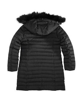 Armani Junior - Girls' Down Coat with Faux-Fur Trim - Big Kid