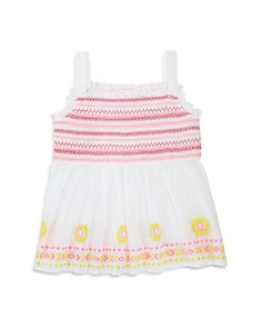 Design History - Girls' Embroidered Top - Little Kid