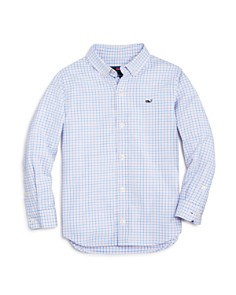 Vineyard Vines Boys' Plaid Oxford Whale Shirt - Little Kid, Big Kid - Bloomingdale's_0