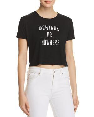 Knowlita Montauk Or Nowhere Cropped Tee - 100% Exclusive