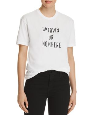 KNOWLITA UPTOWN OR NOWHERE TEE - 100% EXCLUSIVE