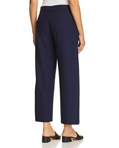 Eileen Fisher Petites - Wide-Leg Wool Pants