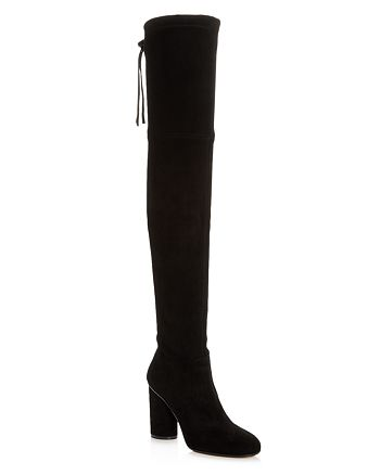 Stuart Weitzman - Women's Helena Suede Over-the-Knee Boots