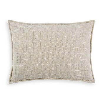 Hudson Park Collection - Seed Stitch Trellis Quilted King Sham - 100% Exclusive