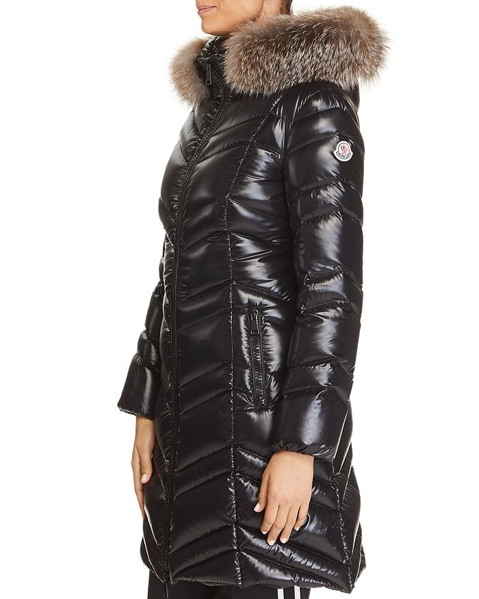 208df6567 Moncler Fulmar Fur Trim Jacket