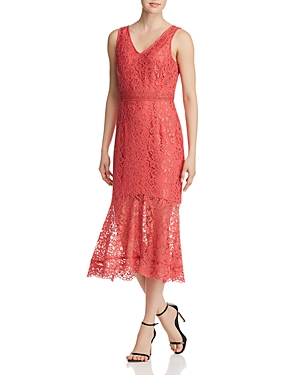 nanette Nanette Lepore Illusion Lace Dress