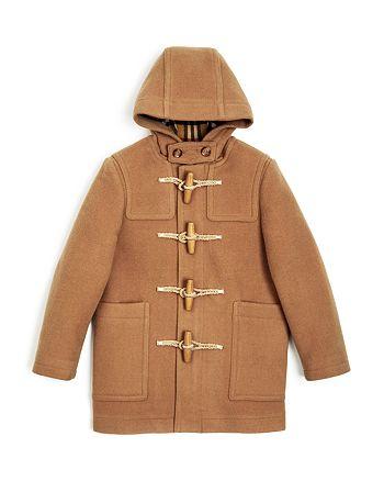66b411243 Burberry Boys' Burford Wool Duffle Coat - Little Kid, Big Kid ...