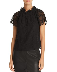 Rebecca Taylor - Ellie Embroidered Top