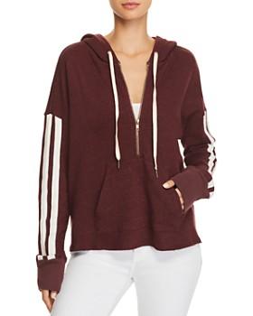 n PHILANTHROPY - Electra Striped-Sleeve Hooded Sweatshirt - 100% Exclusive