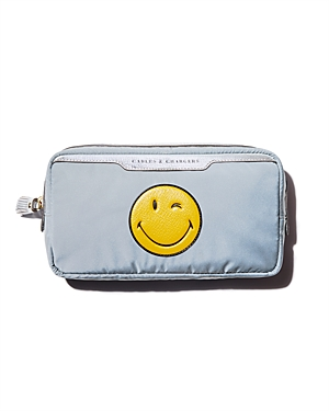 Anya Hindmarch Cables & Chargers Zip Travel Case