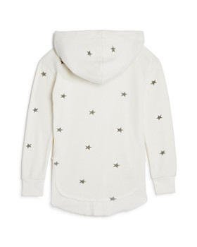 Play Six - Girls' Star-Print Lace-Up Terry Hoodie - Little Kid