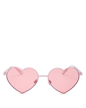 73eea2f0abe Quay Women S Heart Breaker Heart-Shaped Sunglasses