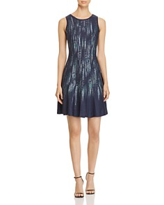 NIC and ZOE - Lightening Streaks Fit-and-Flare Dress