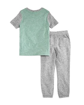 Splendid - Boys' Color-Blocked Tee & Jogger Pants Set - Little Kid