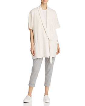 Eileen Fisher Plus - Wrap Sweater Jacket