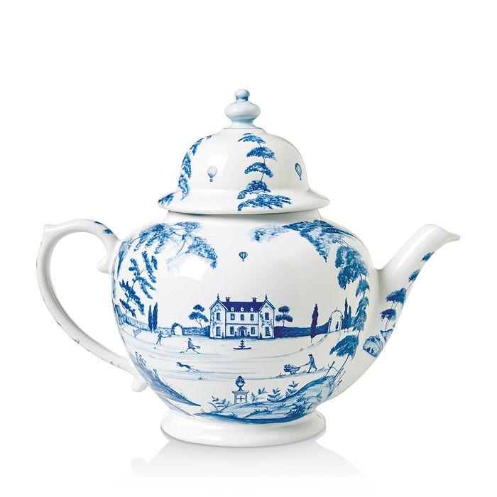 Juliska - Country Estate Delft Blue Teapot Main House