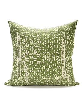 "Sugar Feather -  Sister Labyrinth Decorative Pillow, 22"" x 22"""