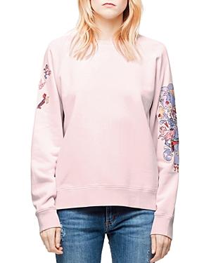 Zadig & Voltaire Upper Bis Ohtake Sweatshirt