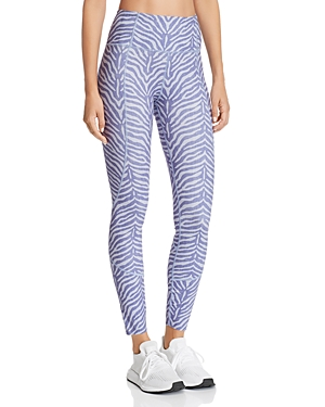 Varley Bedford Zebra Print Leggings