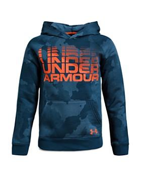 Under Armour - Boys' Camo-Print Fleece Hoodie - Big Kid