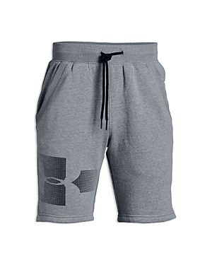Under Armour Boys' Logo Graphic Fleece Shorts - Big Kid