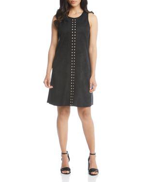 Karen Karen Studded A-Line Dress, Black