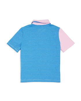Vineyard Vines - Boys' Striped Color-Block Edgartown Polo - Little Kid, Big Kid