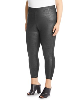 Karen Kane Plus - Faux-Leather Leggings